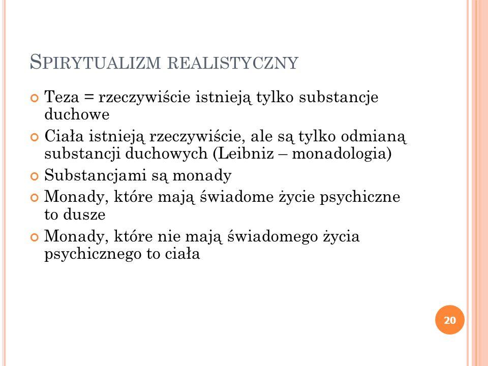 Spirytualizm realistyczny