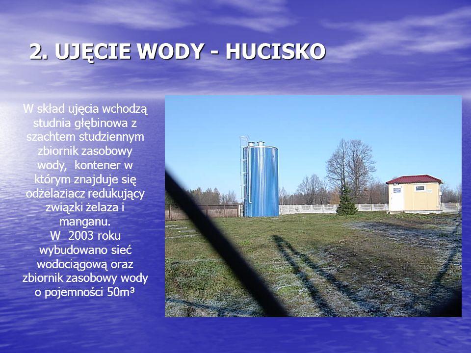 2. UJĘCIE WODY - HUCISKO