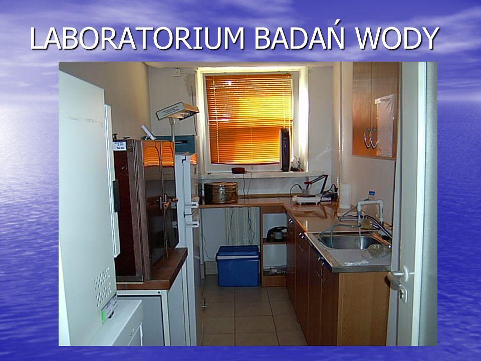 LABORATORIUM BADAŃ WODY