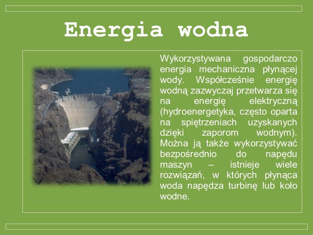 Energia wodna