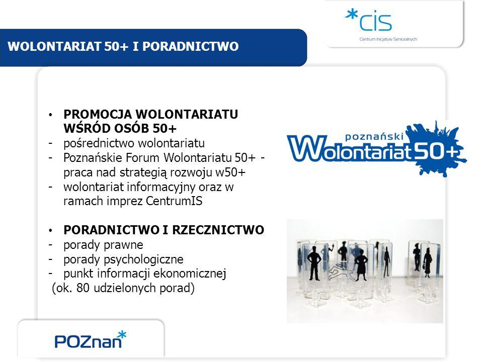 WOLONTARIAT 50+ I PORADNICTWO