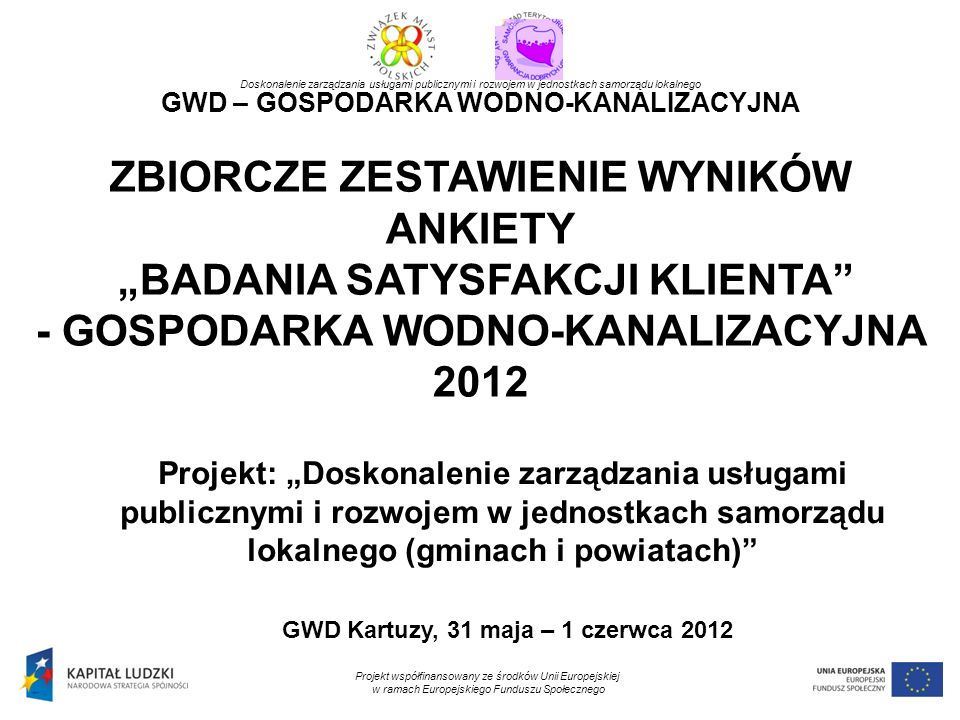 GWD Kartuzy, 31 maja – 1 czerwca 2012