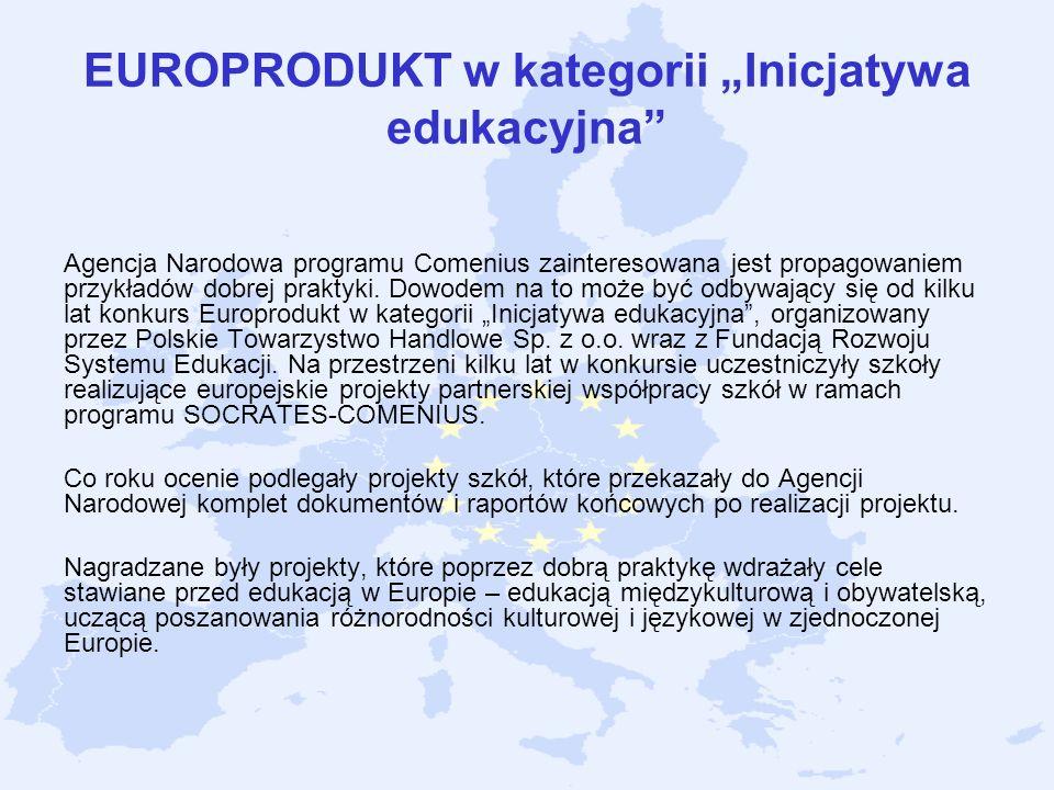 """EUROPRODUKT w kategorii """"Inicjatywa edukacyjna"""