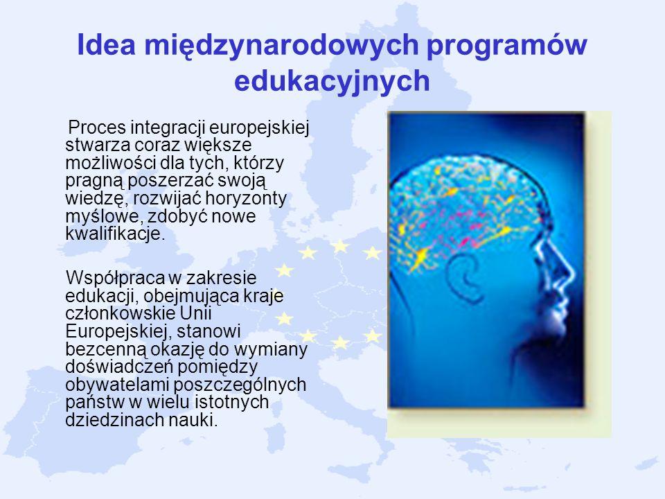 Idea międzynarodowych programów edukacyjnych