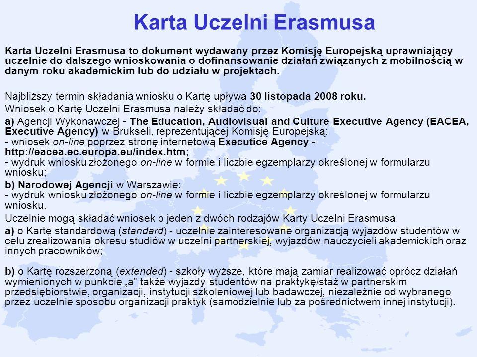 Karta Uczelni Erasmusa