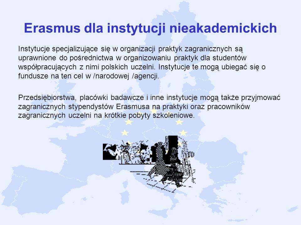 Erasmus dla instytucji nieakademickich
