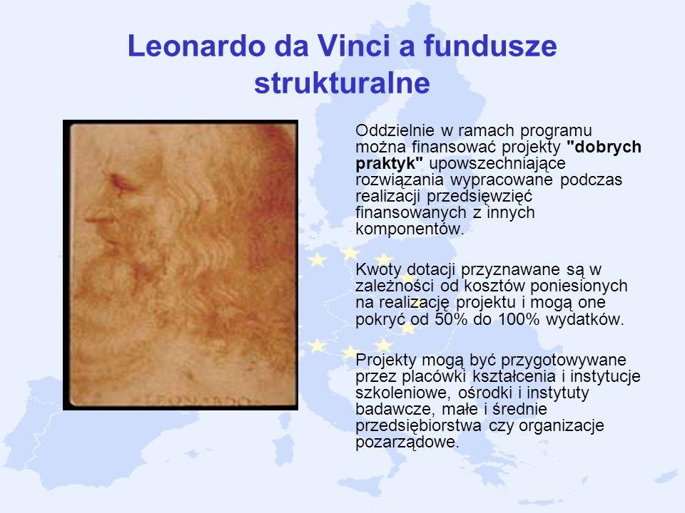 Leonardo da Vinci a fundusze strukturalne