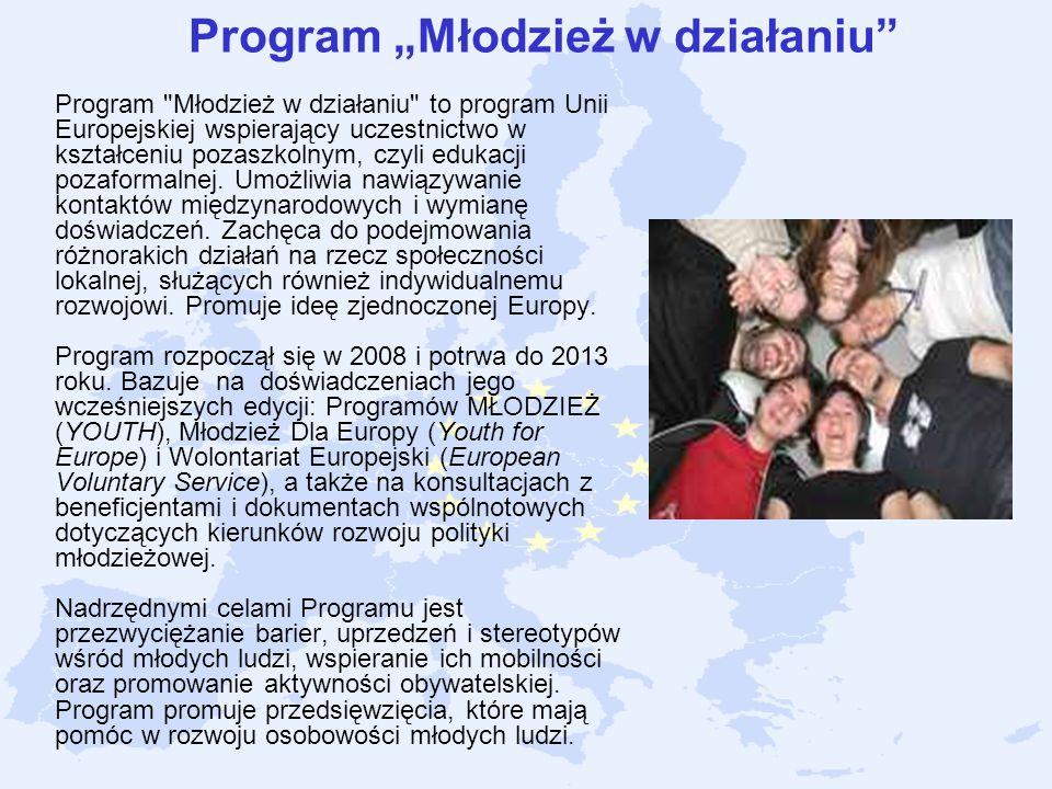 """Program """"Młodzież w działaniu"""