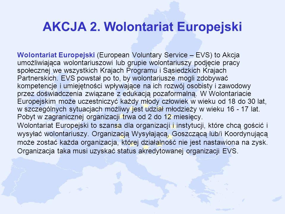 AKCJA 2. Wolontariat Europejski