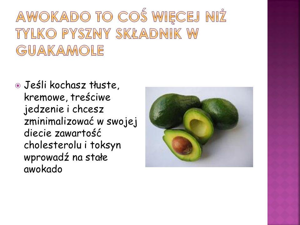 aWOKADO to coś więcej niż tylko pyszny składnik w guakamole