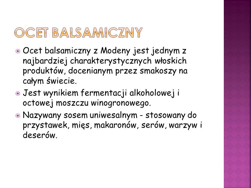 Ocet balsamiczny