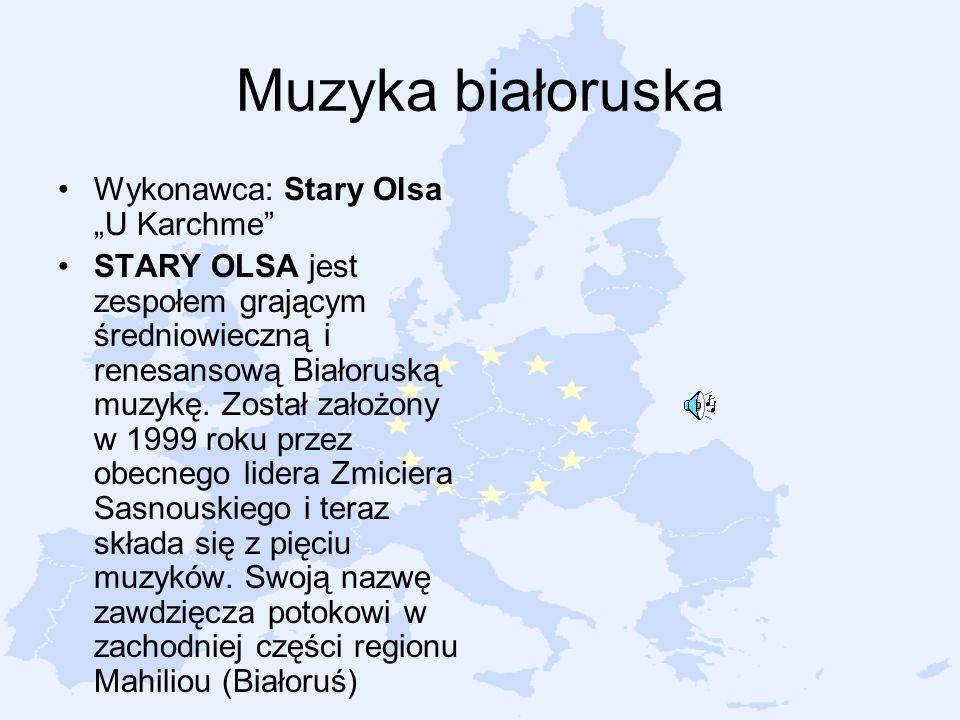 """Muzyka białoruska Wykonawca: Stary Olsa """"U Karchme"""