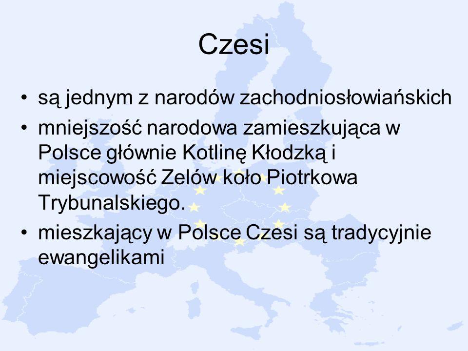 Czesi są jednym z narodów zachodniosłowiańskich
