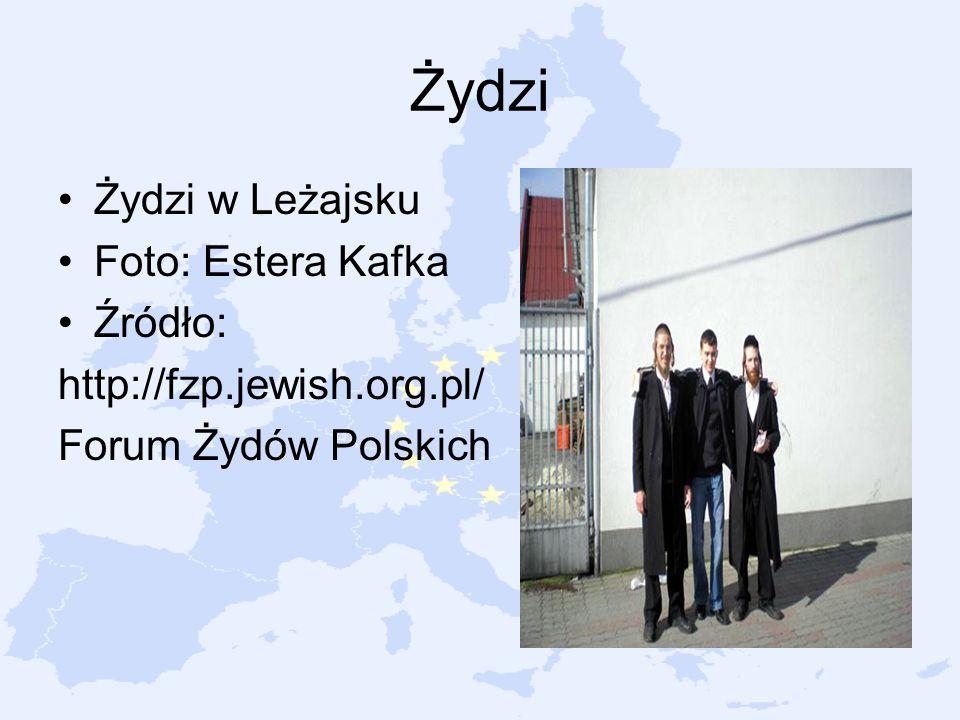 Żydzi Żydzi w Leżajsku Foto: Estera Kafka Źródło: