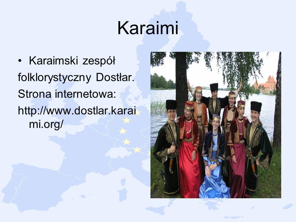 Karaimi Karaimski zespół folklorystyczny Dostłar. Strona internetowa: