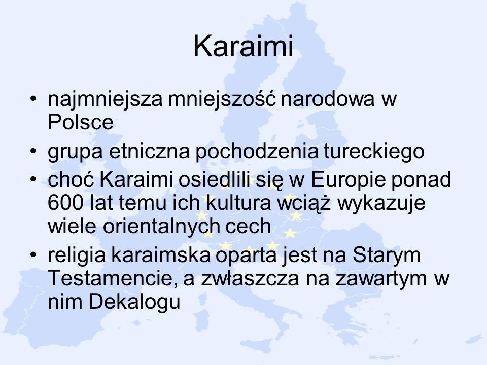 Karaimi najmniejsza mniejszość narodowa w Polsce