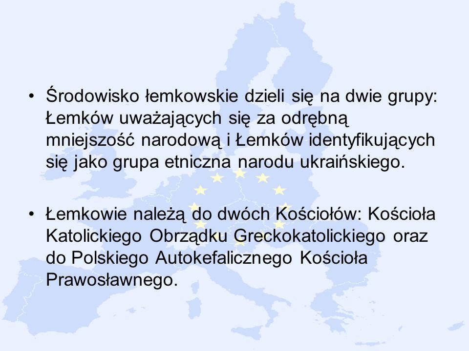 Środowisko łemkowskie dzieli się na dwie grupy: Łemków uważających się za odrębną mniejszość narodową i Łemków identyfikujących się jako grupa etniczna narodu ukraińskiego.