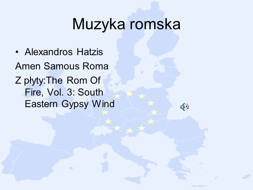 Muzyka romska Alexandros Hatzis Amen Samous Roma