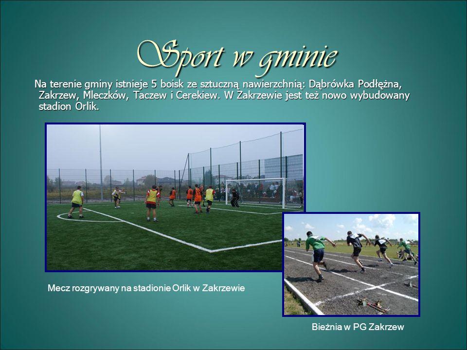 Sport w gminie