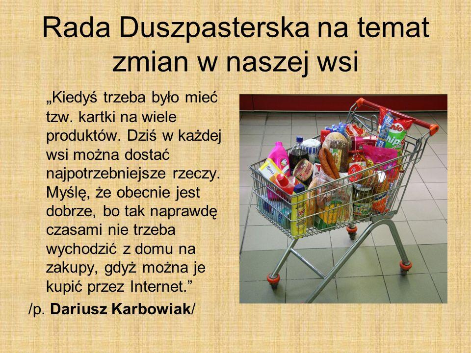 Rada Duszpasterska na temat zmian w naszej wsi
