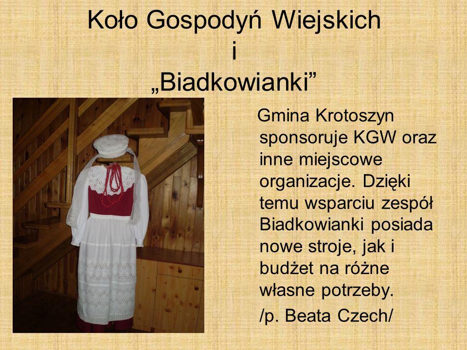 """Koło Gospodyń Wiejskich i """"Biadkowianki"""