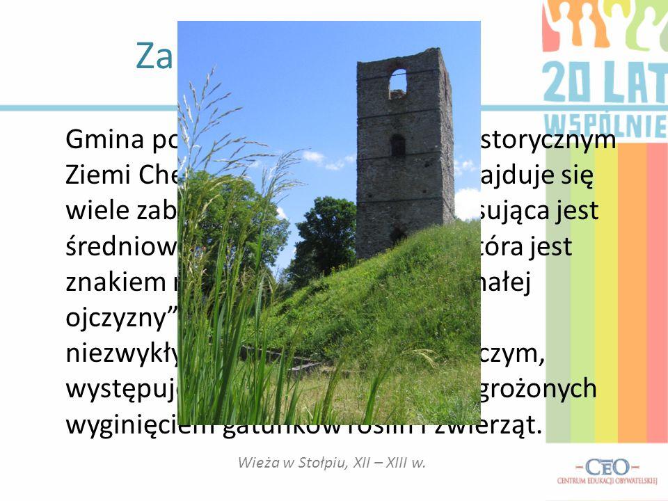 Wieża w Stołpiu, XII – XIII w.