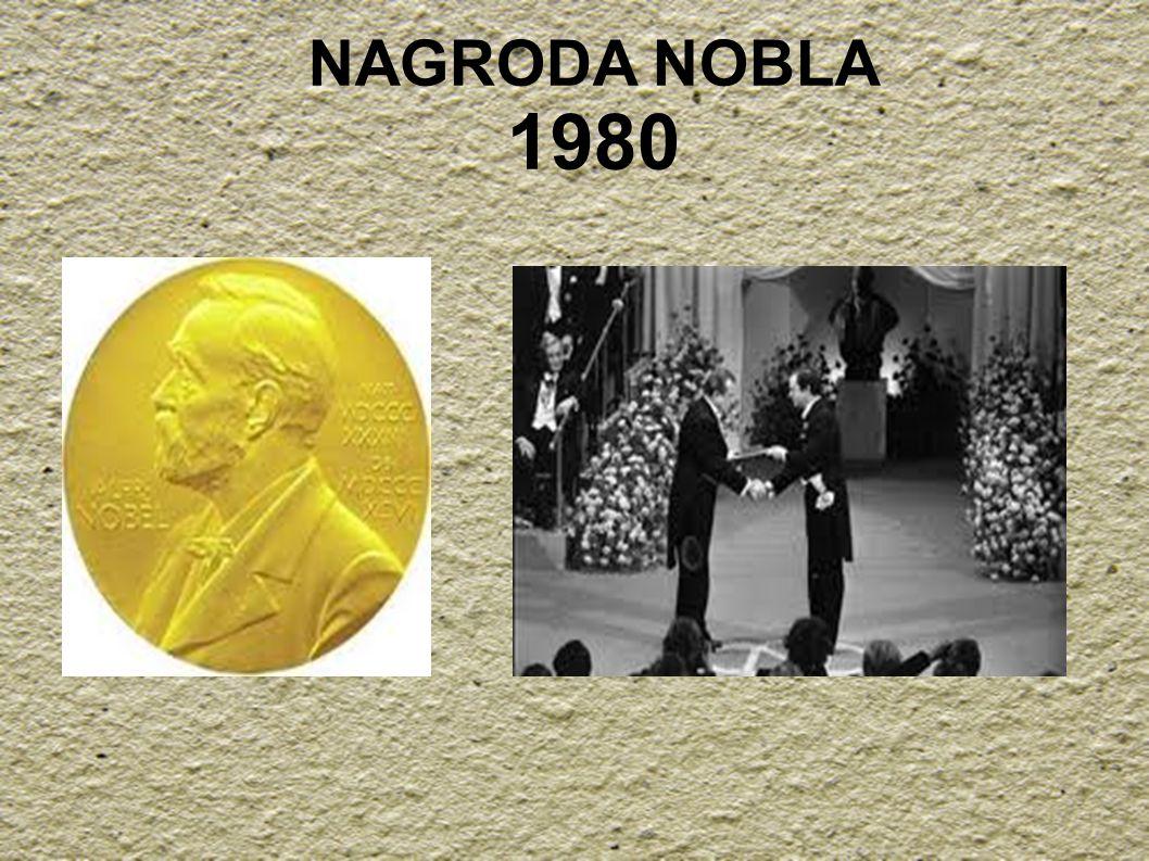 NAGRODA NOBLA 1980
