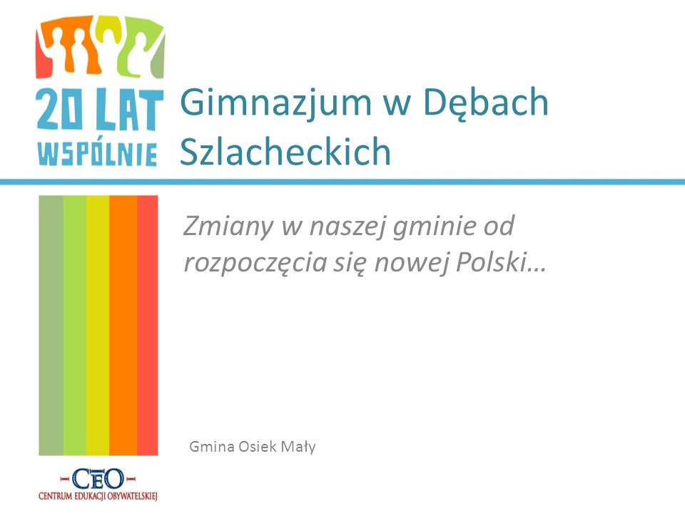Gimnazjum w Dębach Szlacheckich