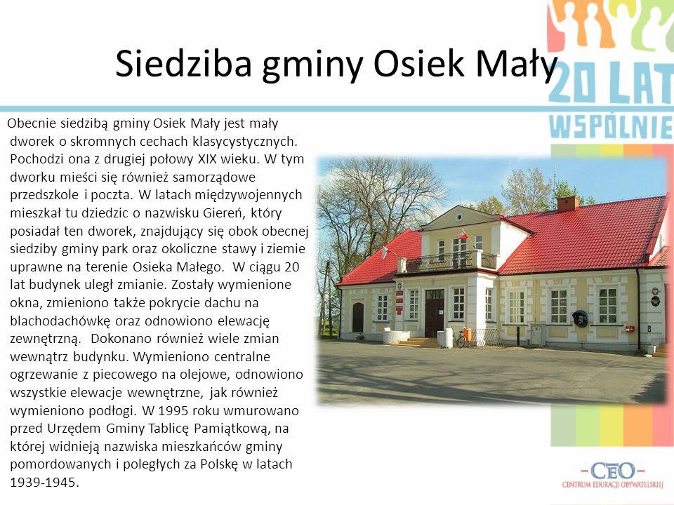 Siedziba gminy Osiek Mały