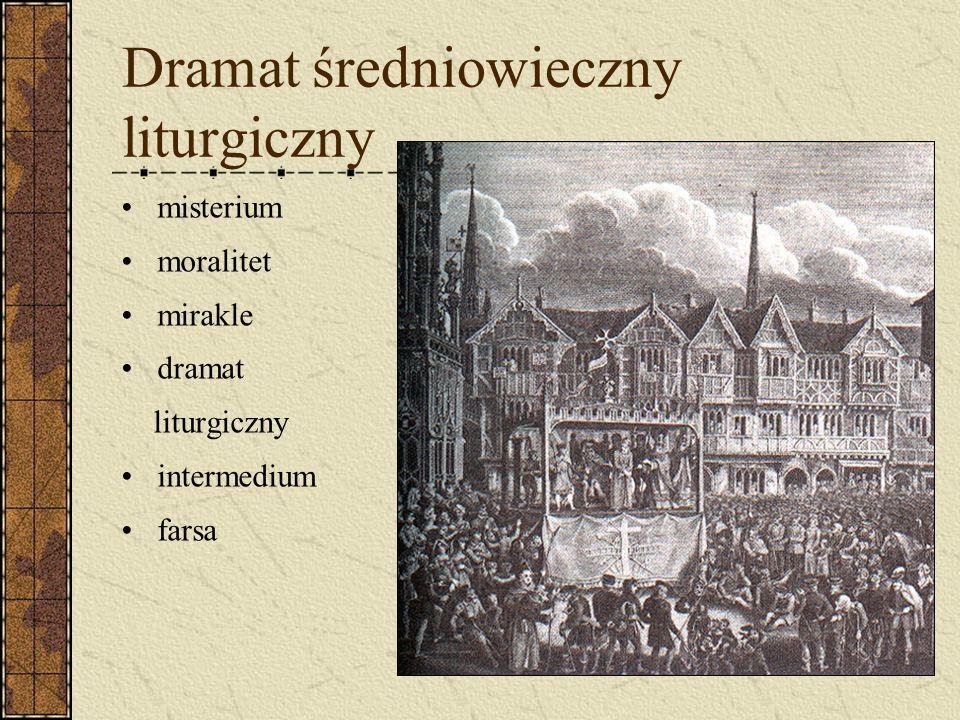 Dramat średniowieczny liturgiczny