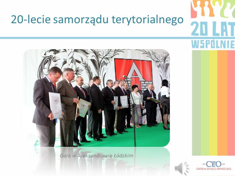 20-lecie samorządu terytorialnego