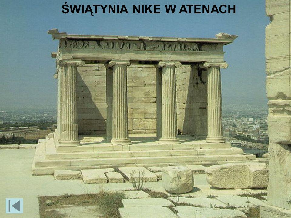ŚWIĄTYNIA NIKE W ATENACH