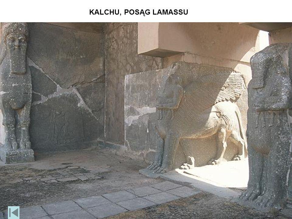 KALCHU, POSĄG LAMASSU