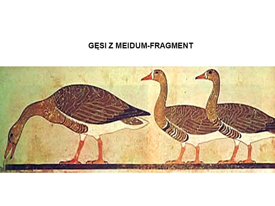GĘSI Z MEIDUM-FRAGMENT
