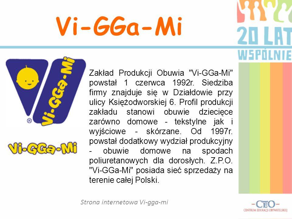 Strona internetowa Vi-gga-mi