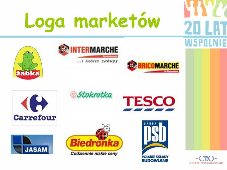 Loga marketów