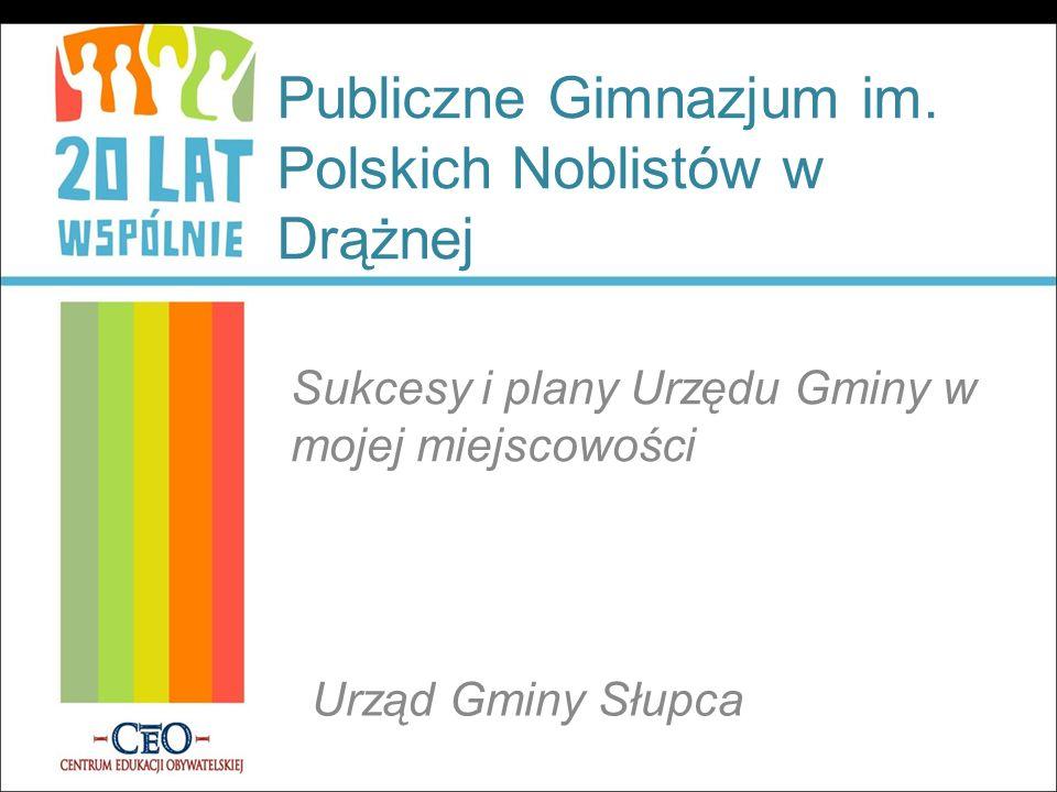 Publiczne Gimnazjum im. Polskich Noblistów w Drążnej