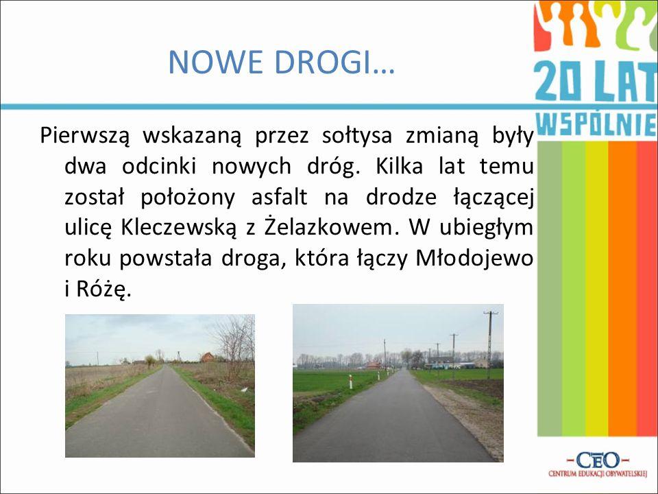 NOWE DROGI…