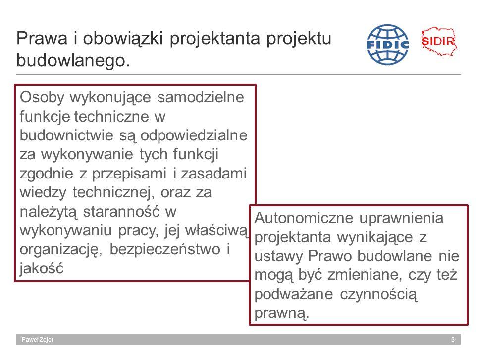 Prawa i obowiązki projektanta projektu budowlanego.