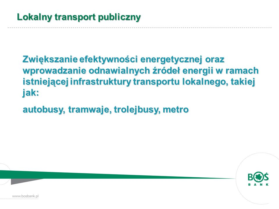 Lokalny transport publiczny