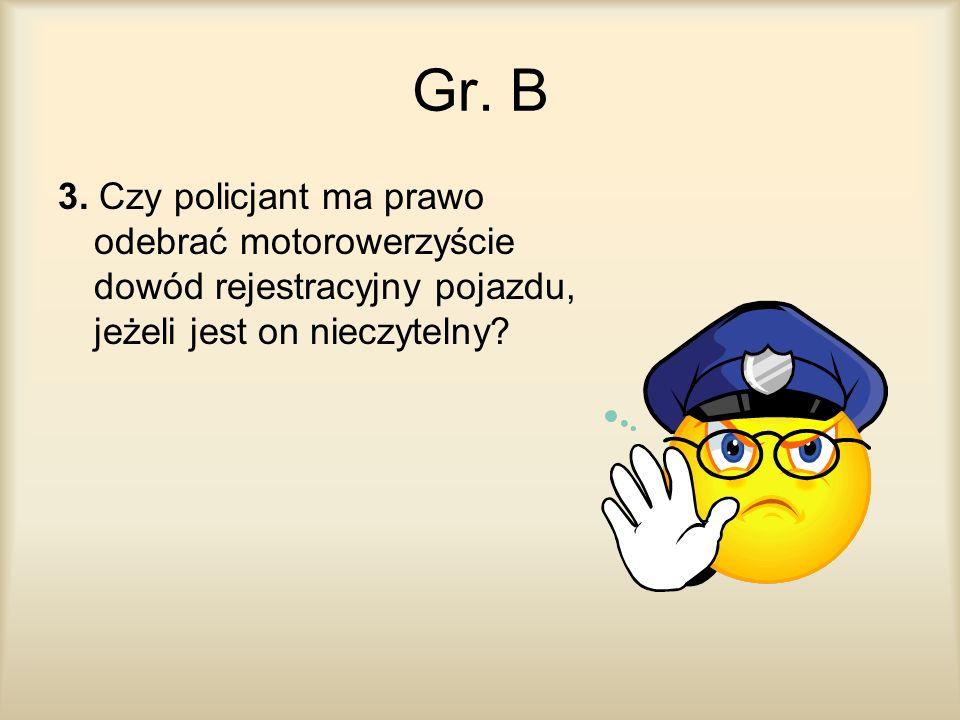 Gr. B 3.