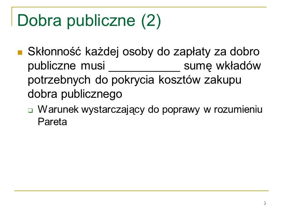 Dobra publiczne (2)