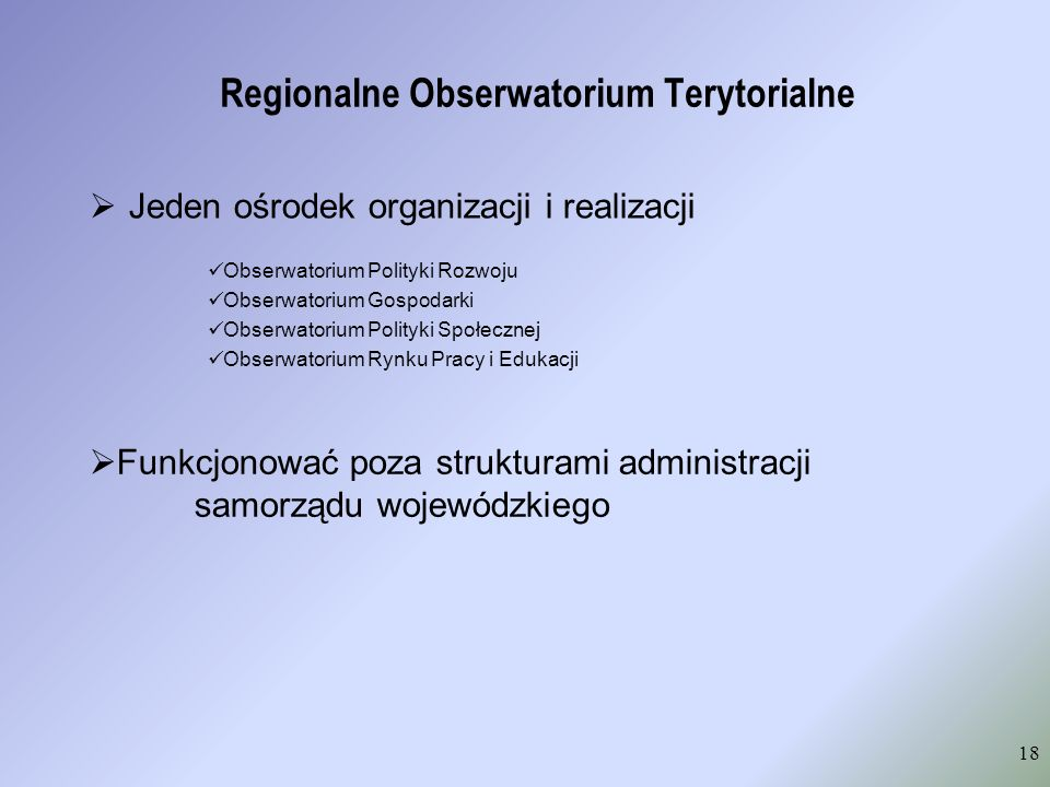 Regionalne Obserwatorium Terytorialne