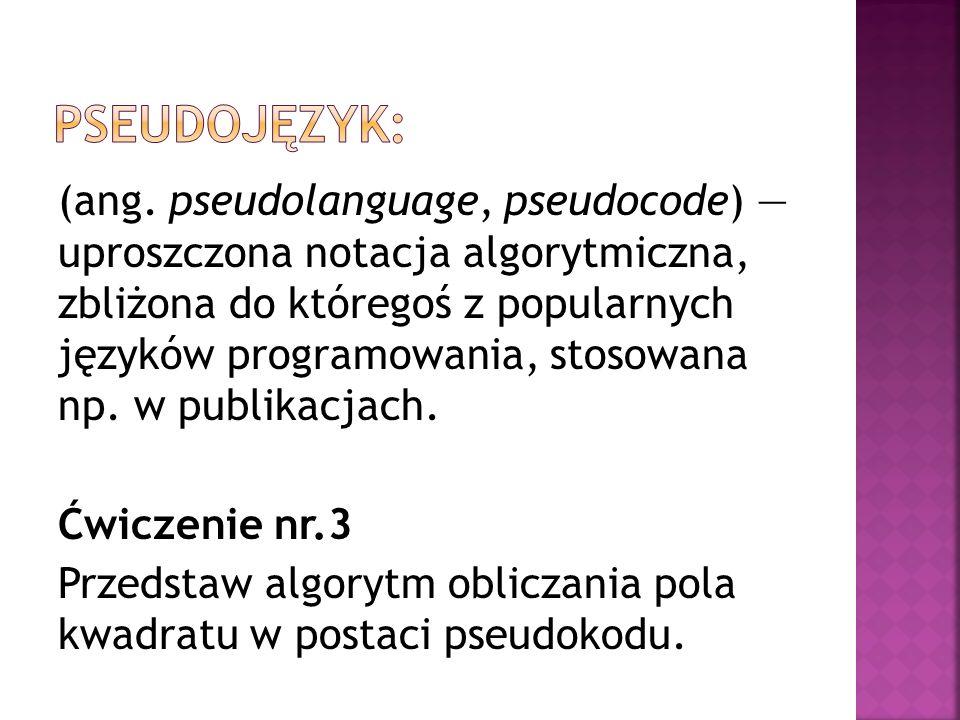 Pseudojęzyk: