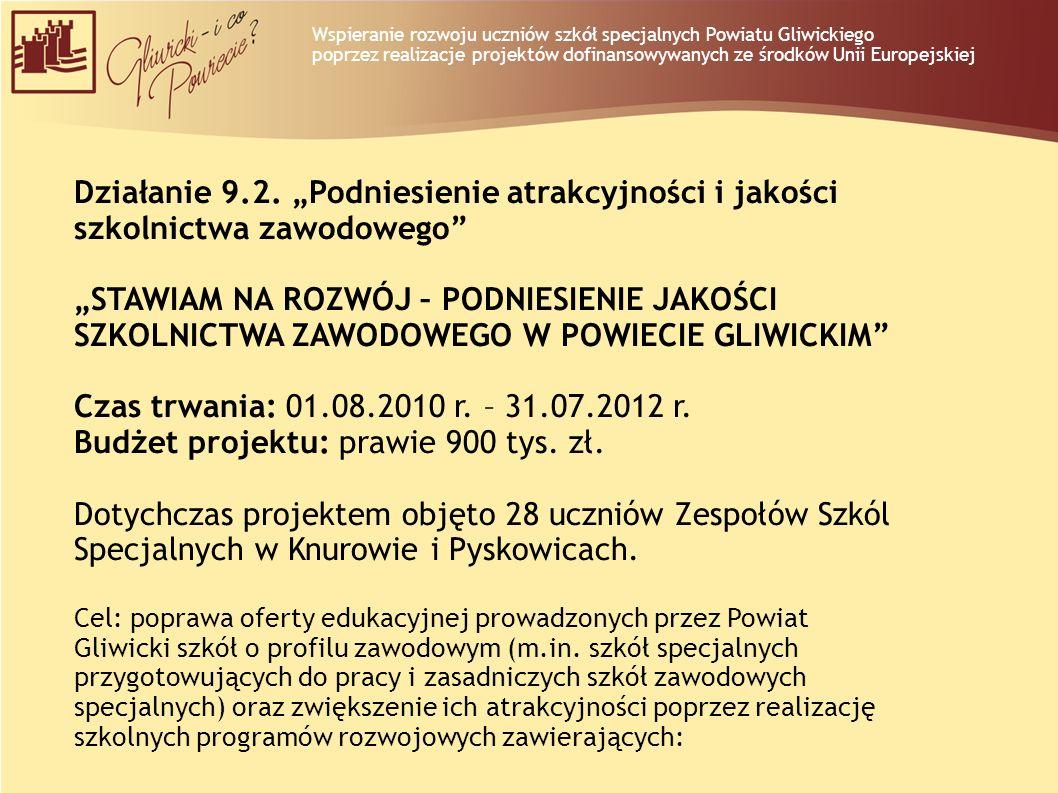 Budżet projektu: prawie 900 tys. zł.
