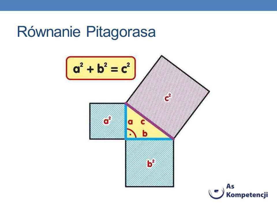 Równanie Pitagorasa