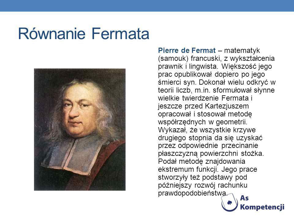 Równanie Fermata