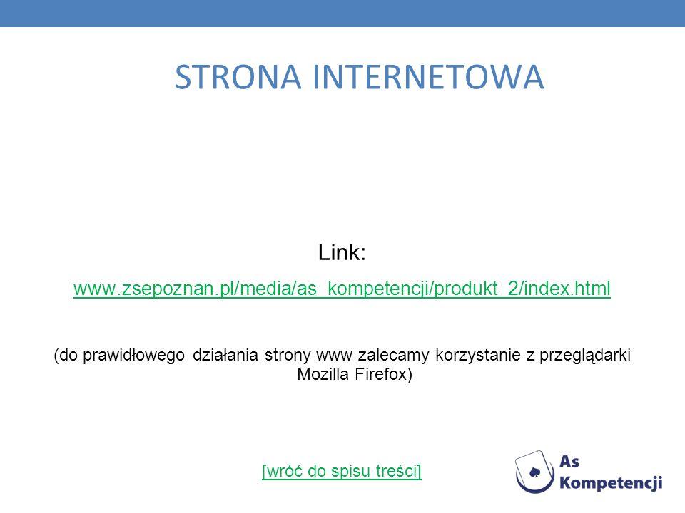 STRONA INTERNETOWA Link: