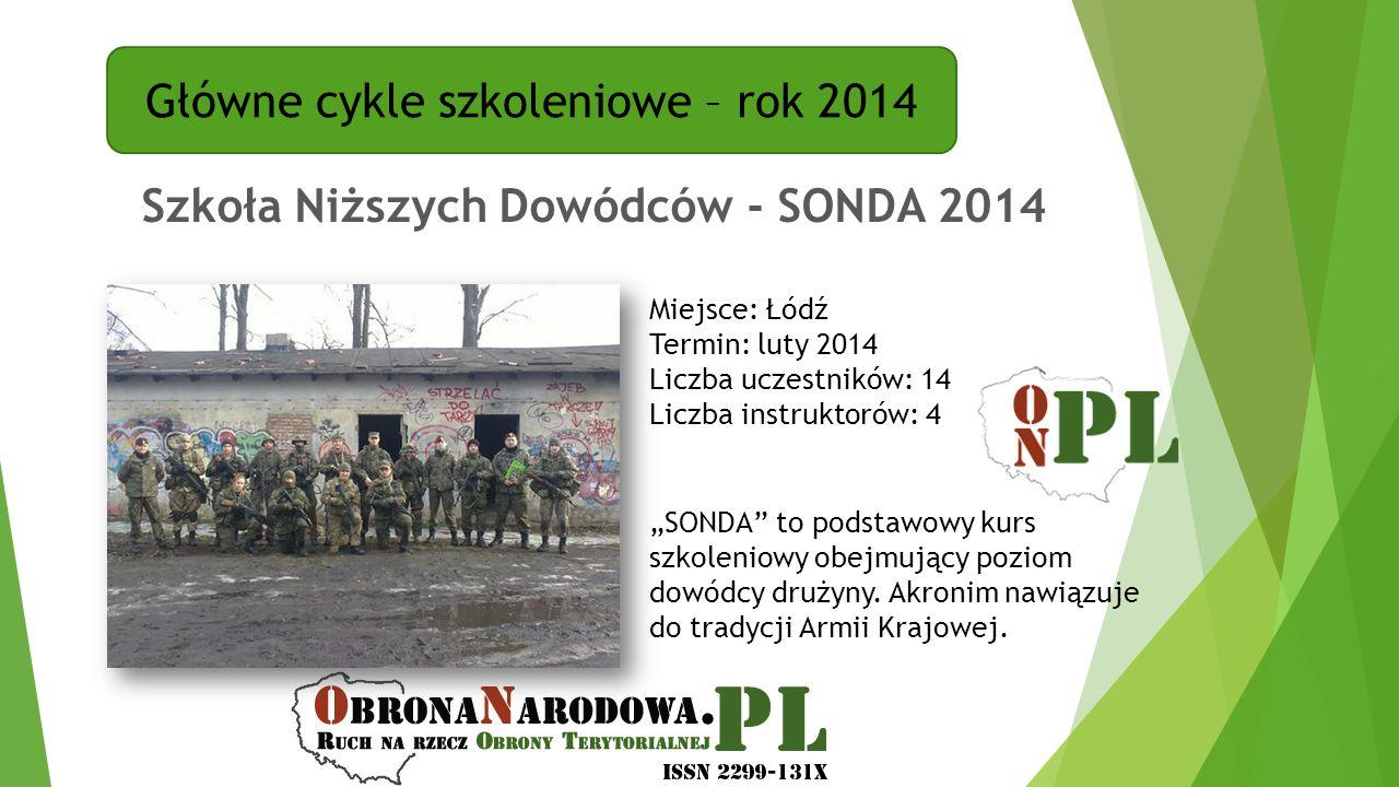 Szkoła Niższych Dowódców - SONDA 2014