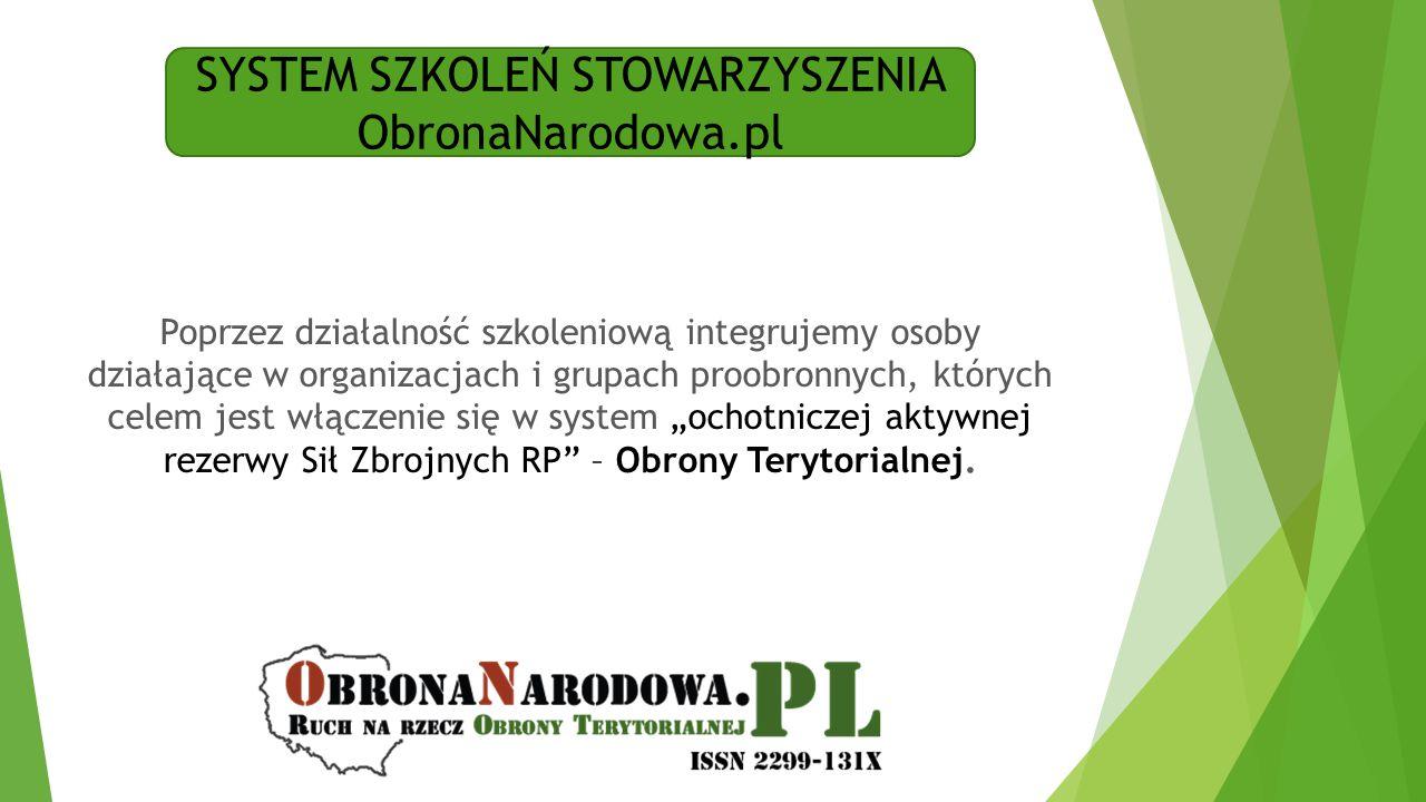 SYSTEM SZKOLEŃ STOWARZYSZENIA ObronaNarodowa.pl